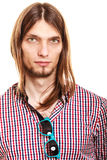 Handsome fashionable young man guy. Royalty Free Stock Image