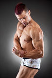 Handsome  fit and muscular man Stock Photo