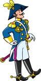 Handsome general or officer Stock Images