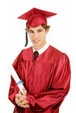 Handsome Grad Stock Photos