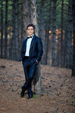 Handsome groom Royalty Free Stock Photo