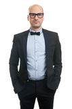 Handsome guy with bow-tie Royalty Free Stock Photography