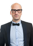 Handsome guy with bow-tie Royalty Free Stock Photos