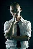 Handsome Guy In Studio Stock Photography