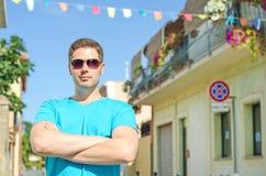 Handsome guy Stock Photos
