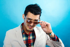 Handsome guy Royalty Free Stock Photo