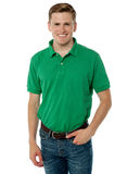 Handsome guy in trendy wear Royalty Free Stock Photography