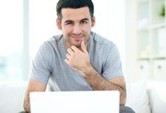 Handsome guy Royalty Free Stock Images