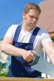 Handsome handyman Stock Photos