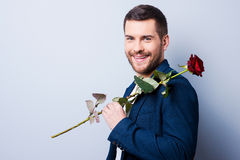 Handsome heartbreaker. Stock Images