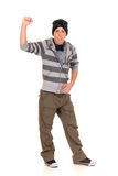 Handsome hip hop youngster Stock Photos