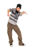 Handsome hip hop youngster Stock Photo