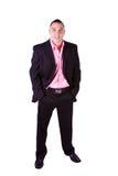 Handsome Hispanic Businessman Stock Image