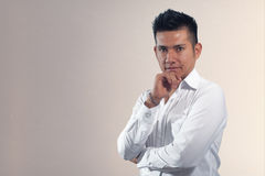 Handsome hispanic guy Royalty Free Stock Image