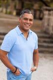 Handsome Hispanic man Stock Photography