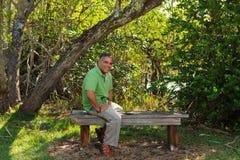 Handsome Hispanic man Royalty Free Stock Photo
