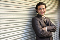 Handsome Indian Businessman royalty free stock photography