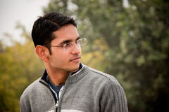 Handsome Indian man Stock Images