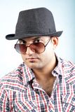 Handsome indian model Royalty Free Stock Image