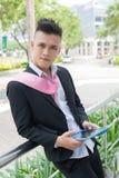 Handsome informal Stock Images