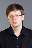 Handsome intelligent man Stock Photography