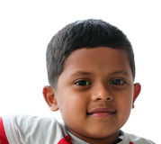Handsome, intelligent & smiling indian boy(kid) Royalty Free Stock Image