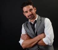 Handsome Italian man Stock Photo