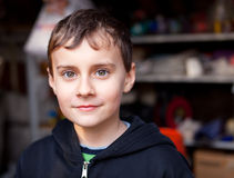 Handsome kid Stock Photo
