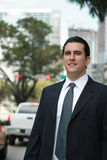 Handsome Latin business man Royalty Free Stock Photo