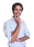 Handsome latin guy with beard Stock Photo