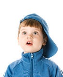 Handsome little boy Stock Images