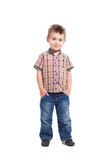 Handsome little boy Stock Image