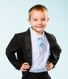 Handsome little boy Stock Image