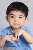 A handsome little boy Stock Images