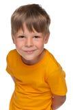 Handsome little boy Stock Photos