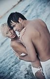 Handsome lovers Royalty Free Stock Photo