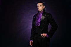 Handsome magician Royalty Free Stock Photos