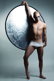 Handsome male dancer Royalty Free Stock Photography