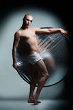 Handsome male dancer Royalty Free Stock Photo