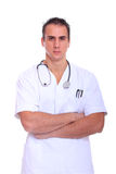 Handsome male doctor Royalty Free Stock Photography