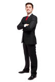 Handsome male manager outdoor Stock Images