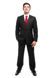 Handsome male manager outdoor Royalty Free Stock Image