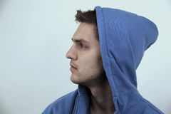 Handsome male model Stock Photography