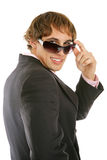 Handsome Male Model in Shades Royalty Free Stock Image