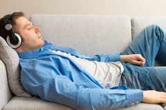 Handsome male resting. Royalty Free Stock Photo