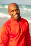 Handsome man. Handsome young man enjoying South Beach in Miami Royalty Free Stock Image