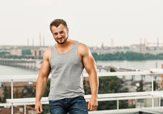 handsome man Στοκ Εικόνες