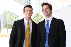 Handsome Man Business Team Royalty Free Stock Image