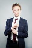 Handsome Man Businessman stock photography