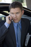Handsome Man On Call Royalty Free Stock Image